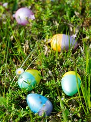 Easter egg hunts are scheduled across the region this week as Easter Sunday approaches.