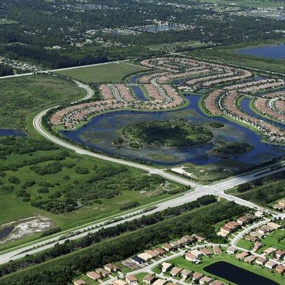 Waterway Village is seen in this aerial image. (FILE PHOTO)
