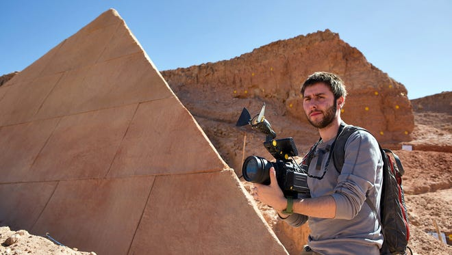 Fitzie (James Buckley) in a scene from 'The Pyramid.'