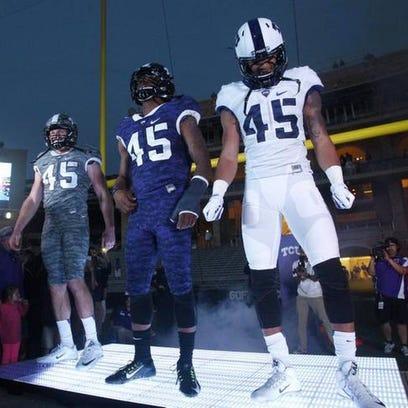 TCU uniforms