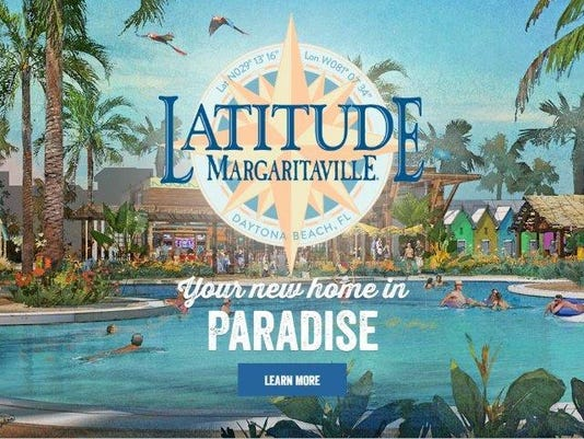 Margarittaville planned look