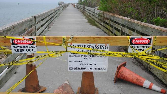 In October, Hurricane Matthew caused significant damage to the 1,400-foot-long fishing pier at Port Canaveral's Jetty Park. The pier reopened this past weekend.