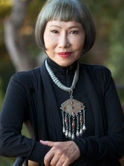 Author Amy Tan.