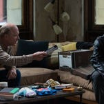 """Ed Harris and James Franco in """"The Adderall Diaries."""""""