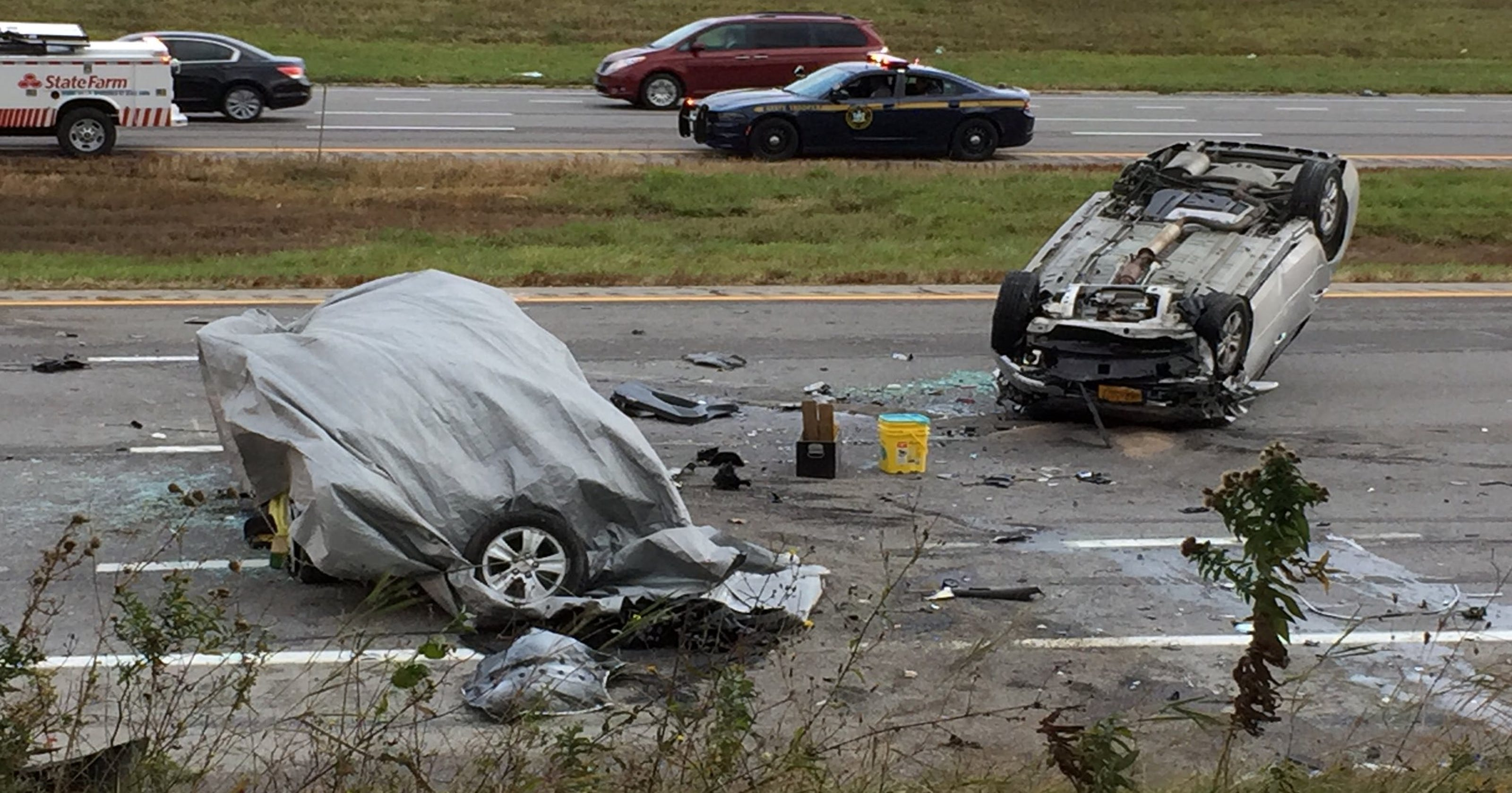 i-390 crash: kristina maye, terry gilbert identified as two killed