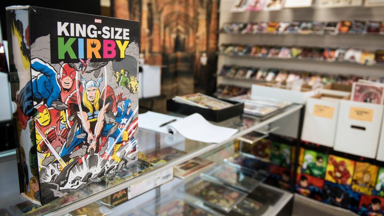 Matthew Madrigale, owner of Kirby Comics on York Street, has always been interested in comics and opening up a comic book store has made his childhood dream into a reality.