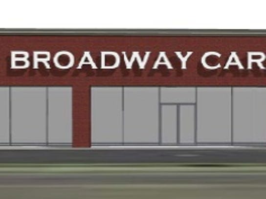 A redesign of what Broadway Carpets could look like
