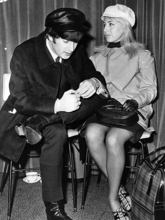 FILE: Cynthia Lennon Dies At 75