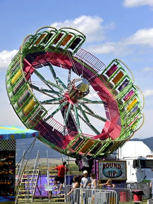 Dreamland Carnival provides rides and amusements at Central Montana Fair July 26-29 in Lewistown.