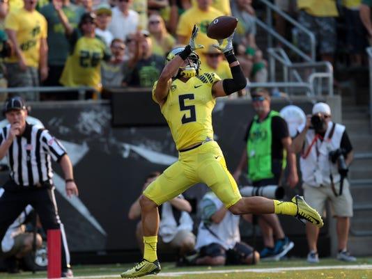 NCAA Football: Michigan State at Oregon