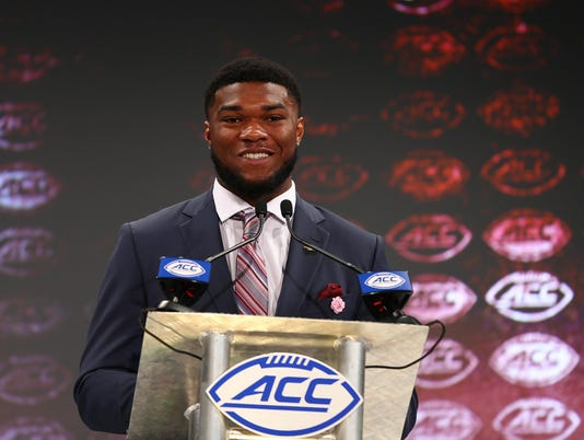 NCAA Football: ACC Media Days