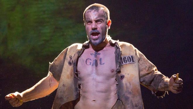 Ramin Karimoo is Jean Valjean in 'Les Misérables.'