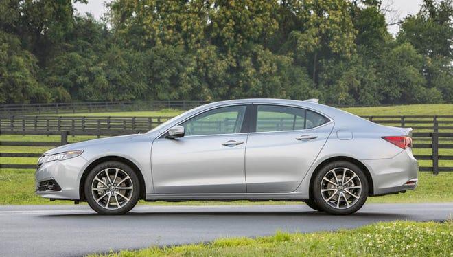 2015 Acura TLX V6 SH-AWD.