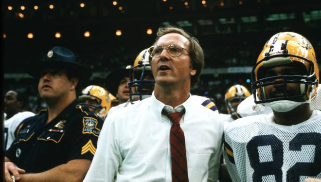 Former LSU All-American and coach Jerry Stovall will have his jersey retired.