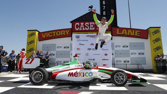 Andretti Autosport Indy Lights driver Pato O'Ward has been the breakout star of the 2018 season.