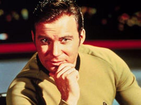 "William Shatner starred as the original Capt. James T. Kirk in ""Star Trek."""