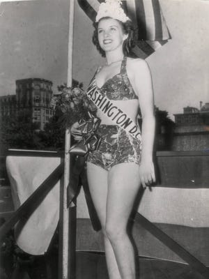 Venus Ramey, who grew up in Cincinnati and Kentucky, represented Washington, D.C., when she was crowned Miss America in 1944.