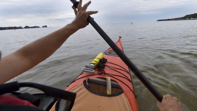 One of the most important rules of kayaking is to let somebody else know when you are leaving, where you are going and when you plan to return.