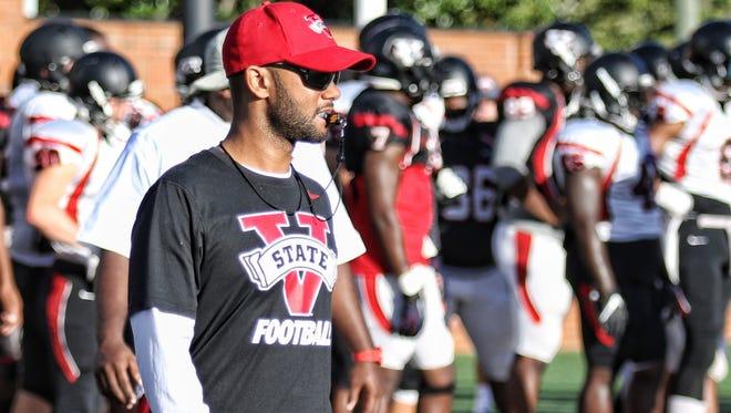 Cocoa High grad James Rowe III was Valdosta (Ga.) State defensive coordinator in 2016.