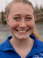 St. Clair sophomore Claire Brooks, 15.