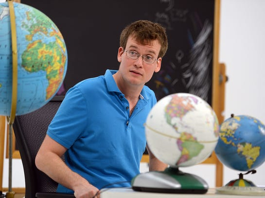 """John Green: writer; Butler University; 2013; words of wisdom: """"In  learning how to be a nobody, you will learn how not to be a jerk. And  for the rest of your life, if you are able to remember your hero's  journey from college grad to underling, you will be less of a jerk. You  will tip well. You will empathize. You will be a mentor, and a generous  one."""""""