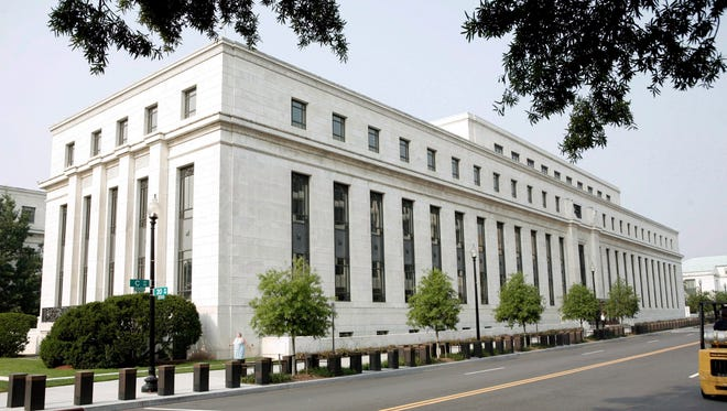 The Federal Reserve building in Washington, D.C. USA in a 2007 file photo.