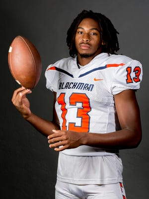 Blackman's Trey Knox is a Murfreesboro area high school football player to watch in 2018.