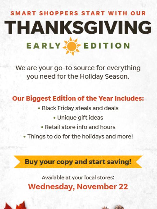 Thanksgiving Day TCP long