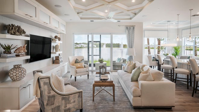 The Coach Collection at Azure at Hacienda Lakes offers single-level, low maintenance luxury living in Naples.