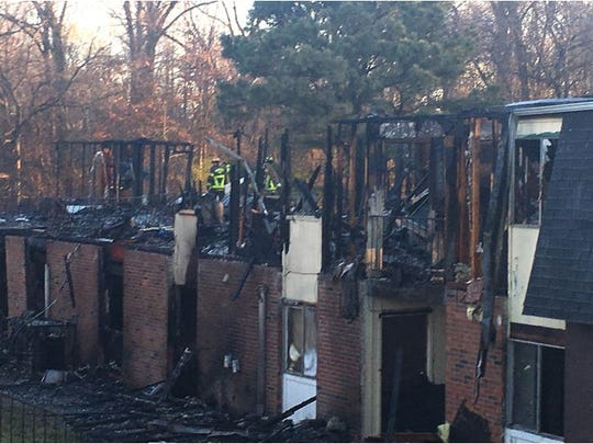 Fatal fire at Whispering Pines apartments on March