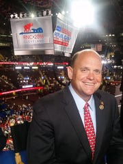 U.S. Rep. Tom Reed, R-Corning, is in Cleveland this week for the Republican National Convention.