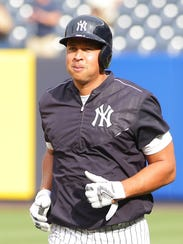 Alex Rodriguez played his last game as a Yankee on