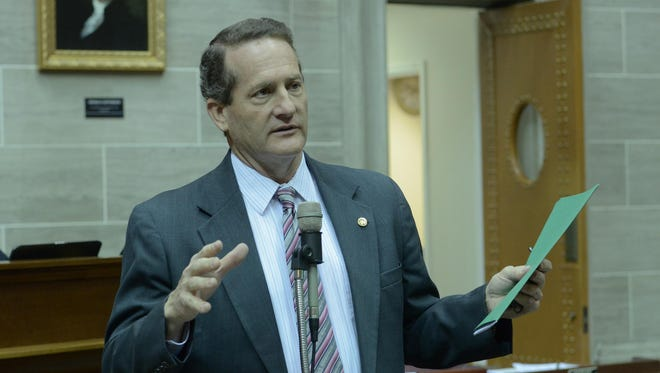 Republican Rep. Don Gosen of Chesterfield submitted his resignation Wednesday, Feb. 17, 2016 to House Speaker Todd Richardson.