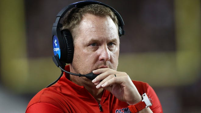 Hugh Freeze and Ole Miss will face Vanderbilt in Nashville on Saturday.