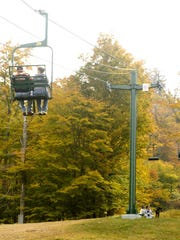 McCauley Mountain has scenic chairlift rides and hiking