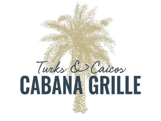 A logo for Turks & Caicos Cabana Grille
