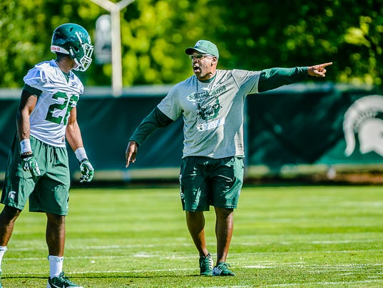 MSU Football Fall Camp-First Practice