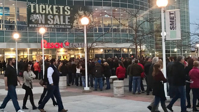 How busy has the Resch Center been in recent months? It was recently ranked No. 15 on a worldwide list of top-grossing arenas its size by Venues Today magazine.