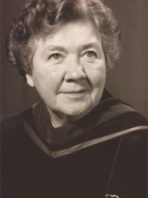 Reverend E. Laura Butler, 97