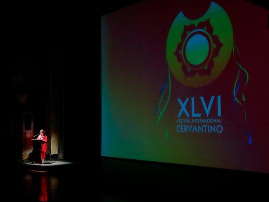 La directora del Festival Internacional Cervantino
