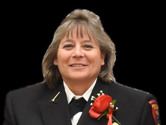 Lt. Teresa Uzel, longtime Brevard County firefighter.