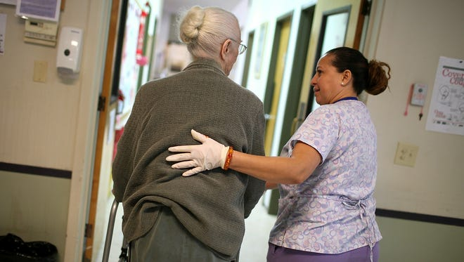 Insurance is not enough for many families struggling with elder care.