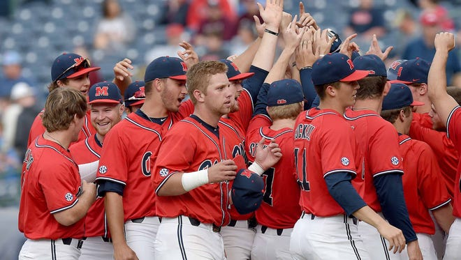 No. 6 Ole Miss sits atop the SEC West standings as it prepares to host LSU this weekend.