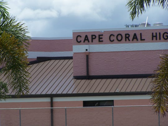 The female student reported the sex crime happened during class at Cape Coral High School.
