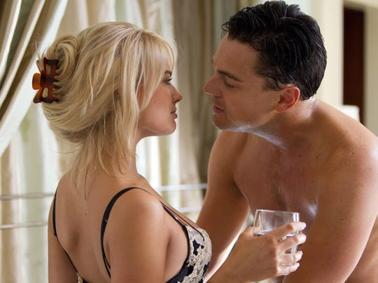 Margot Robbie, with Leonardo DiCaprio, broke out in