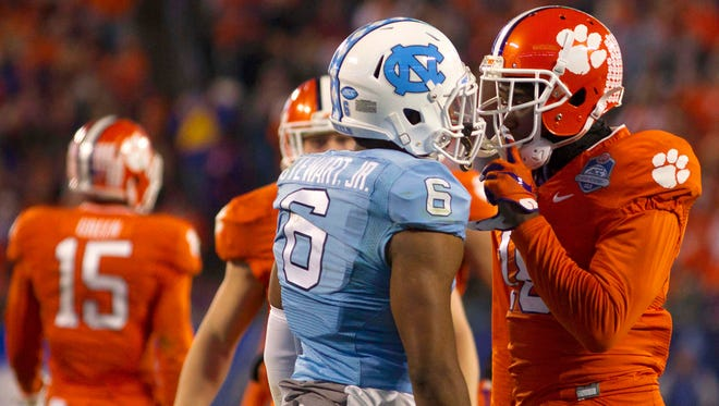 North Carolina fell to Clemson in the 2015 ACC Title Game after winning the Coastal Division.