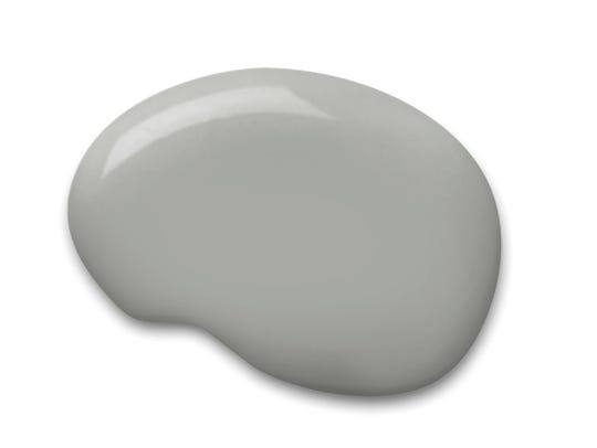 Sherwin-Williams Gray Matters (SW 7066, hallway and
