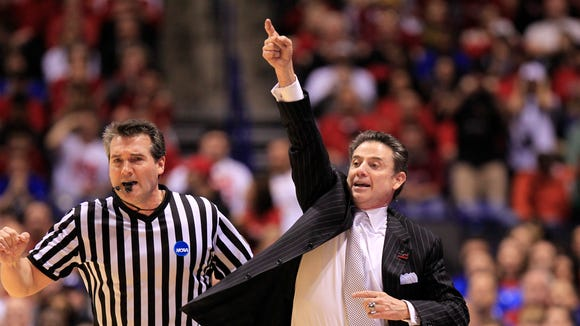 Louisville coach Rick Pitino had high praise for the Hoosiers leading up to Tuesday night's game in New York City.