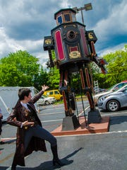 Innovation is celebrated at the Steampunk World's Fair.