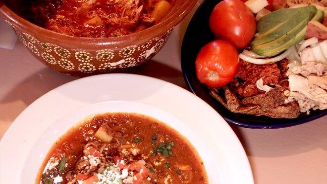 Tinga Poblana de Pollo (Mexican stew).